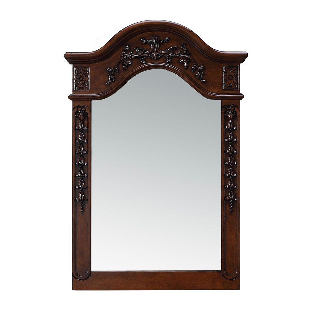 Favorite Cherry Wall Mirrors Regarding Belle Foret 24 In. X 36 In (View 2 of 20)