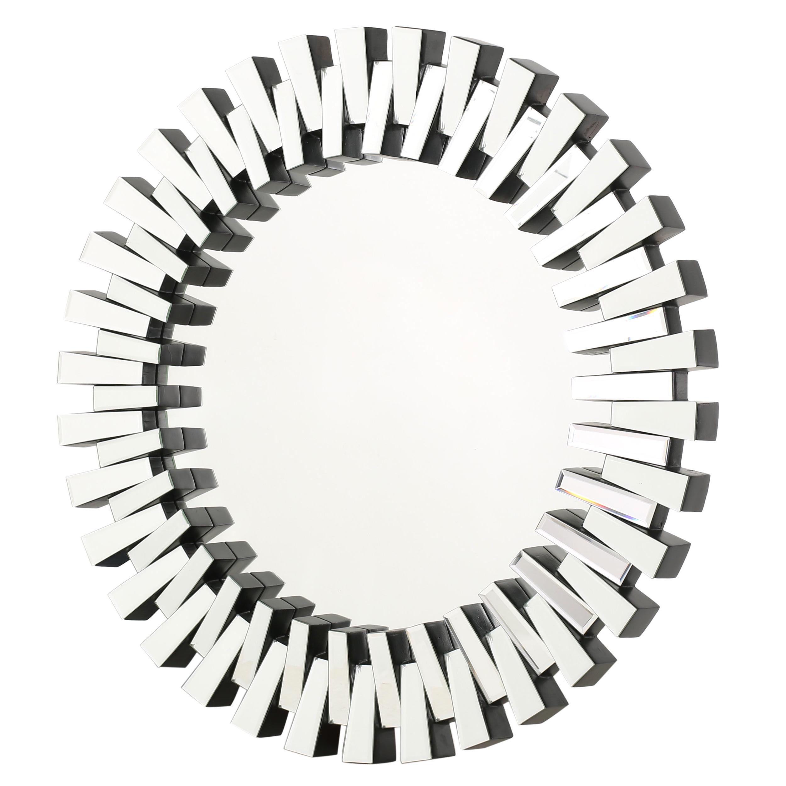 Featured Photo of Deniece Sunburst Round Wall Mirrors