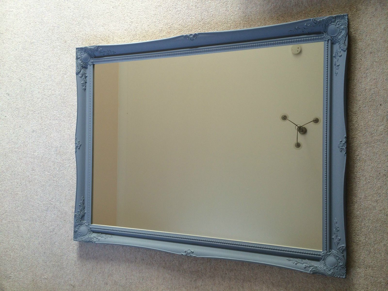 "Favorite Extra Large Wall Mirrors With Superb Extra Large French Grey Wall Mirror Frame Size 30"" X 42"" (75cm X 105cm) (View 17 of 20)"