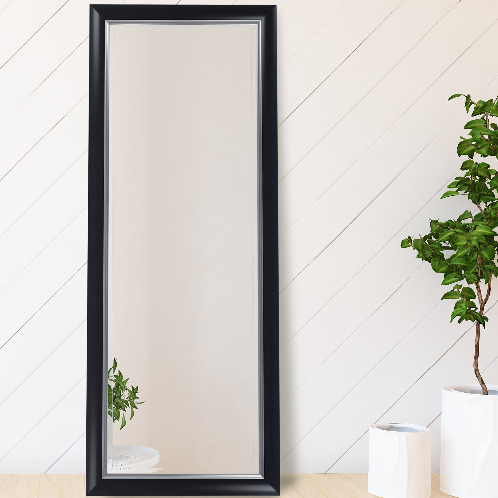 Favorite Henriqueta Scoop Framed Beveled Full Length Mirror Regarding Dedrick Decorative Framed Modern And Contemporary Wall Mirrors (View 10 of 20)
