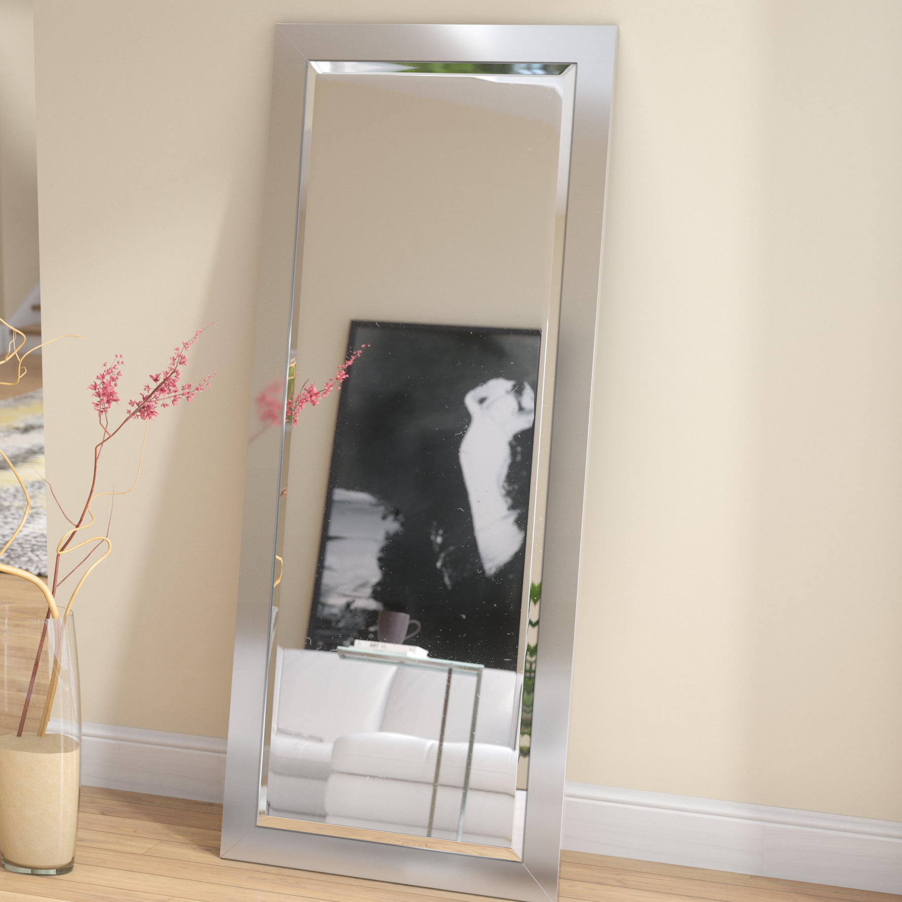 Favorite Industrial Beveled Full Length Mirror With Regard To Industrial Full Length Mirrors (View 6 of 20)