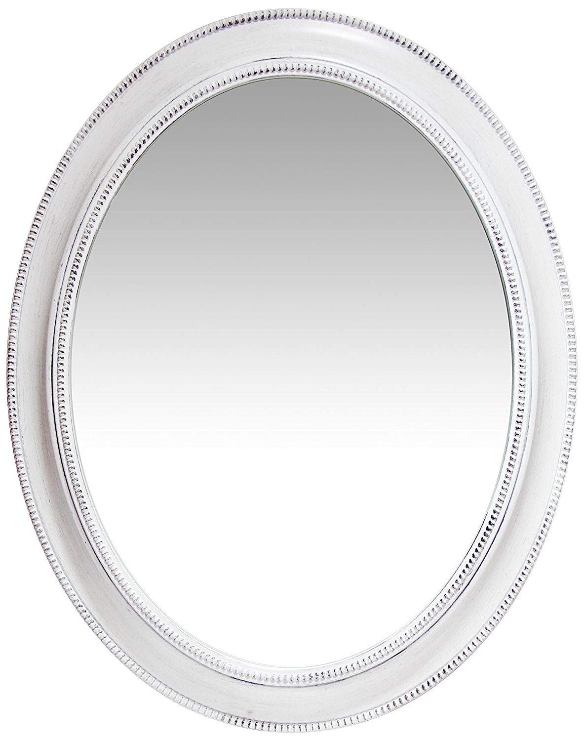 Favorite Infinity Instruments 30 Inch Wall Mirror, Sonore (White) Throughout Infinity Frameless Wall Mirrors (View 6 of 20)