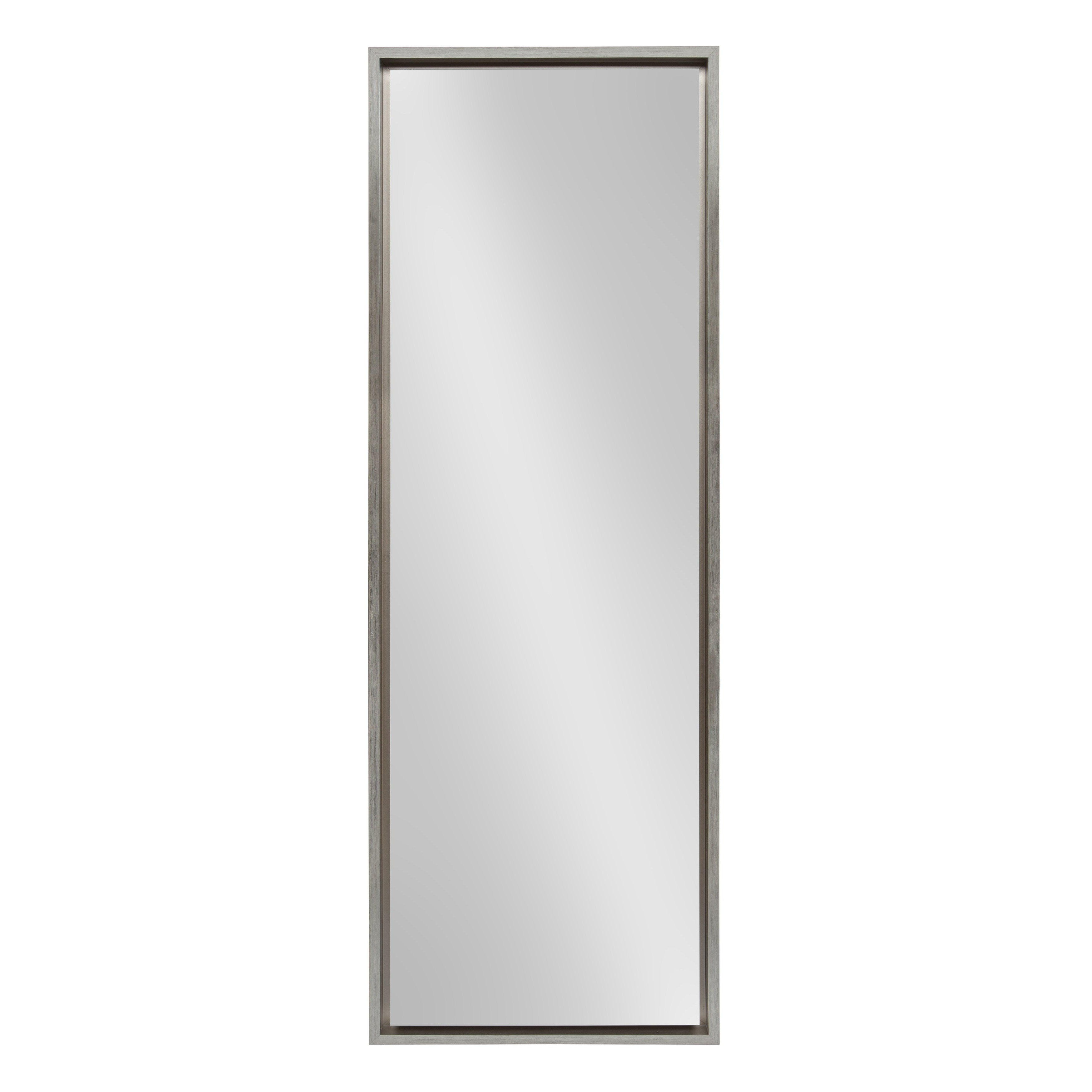 Favorite Kate And Laurel Evans Framed Wall Panel Mirror Within Panel Wall Mirrors (View 12 of 20)