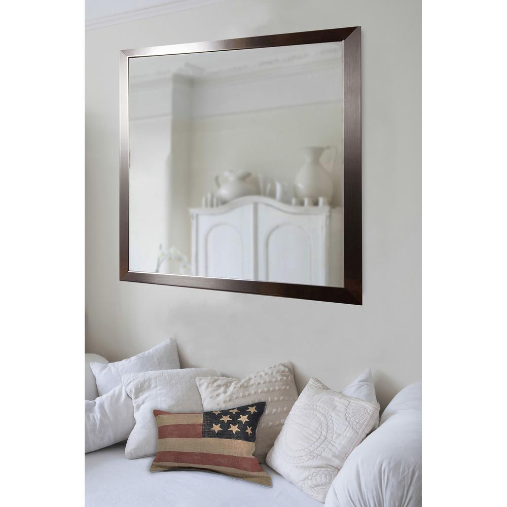 Favorite Large Wall Mirrors Without Frame Pertaining To 28 In. X 34 In (View 4 of 20)