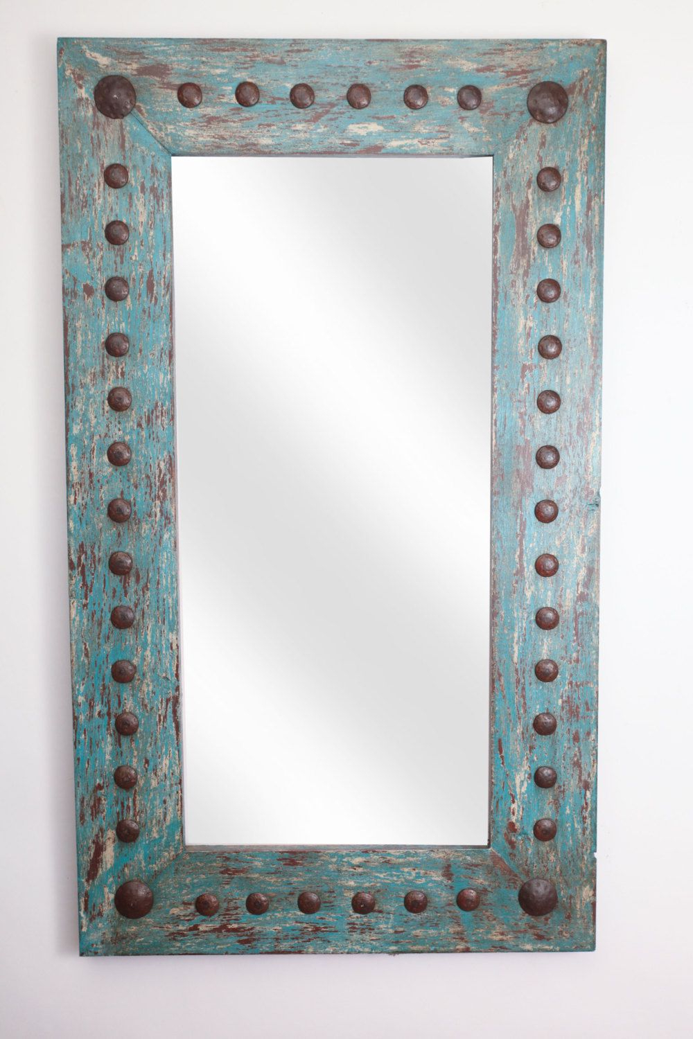 Favorite Mexican Wall Mirrors With Regard To Puebla Rustic Mirror Wood Mexican 20X34 Rustic Western (View 5 of 20)