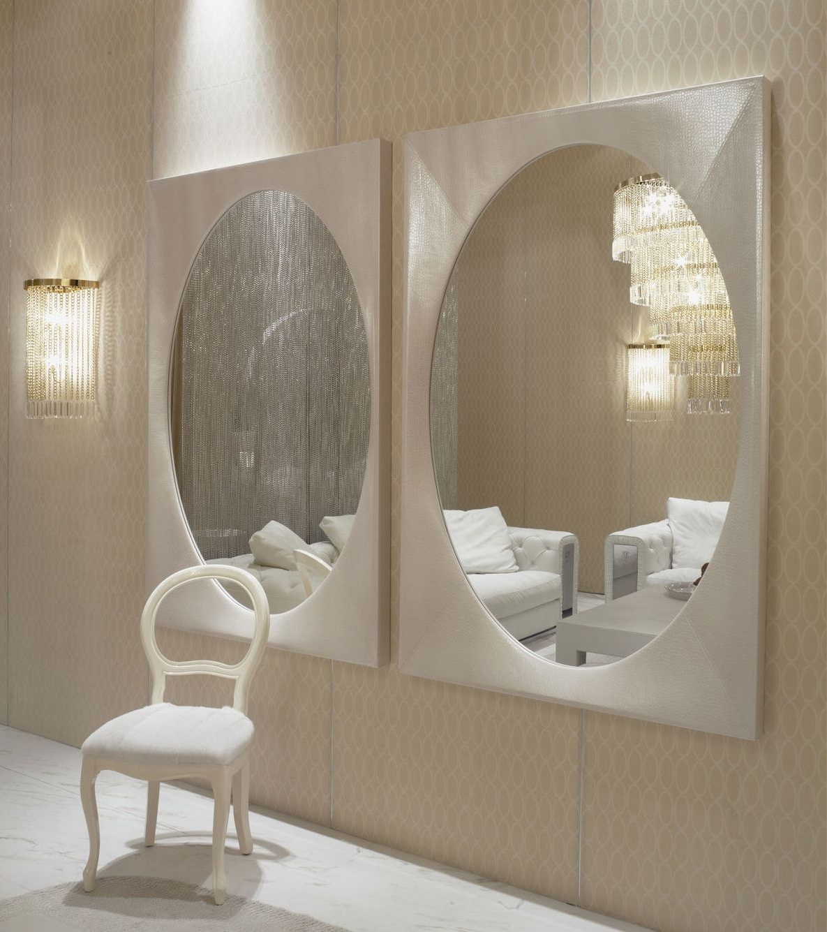 Favorite Modern Wall Mirrors Regarding Instyle Decor Wall Mirrors, Luxury Designer Wall Mirrors, Modern (View 17 of 20)