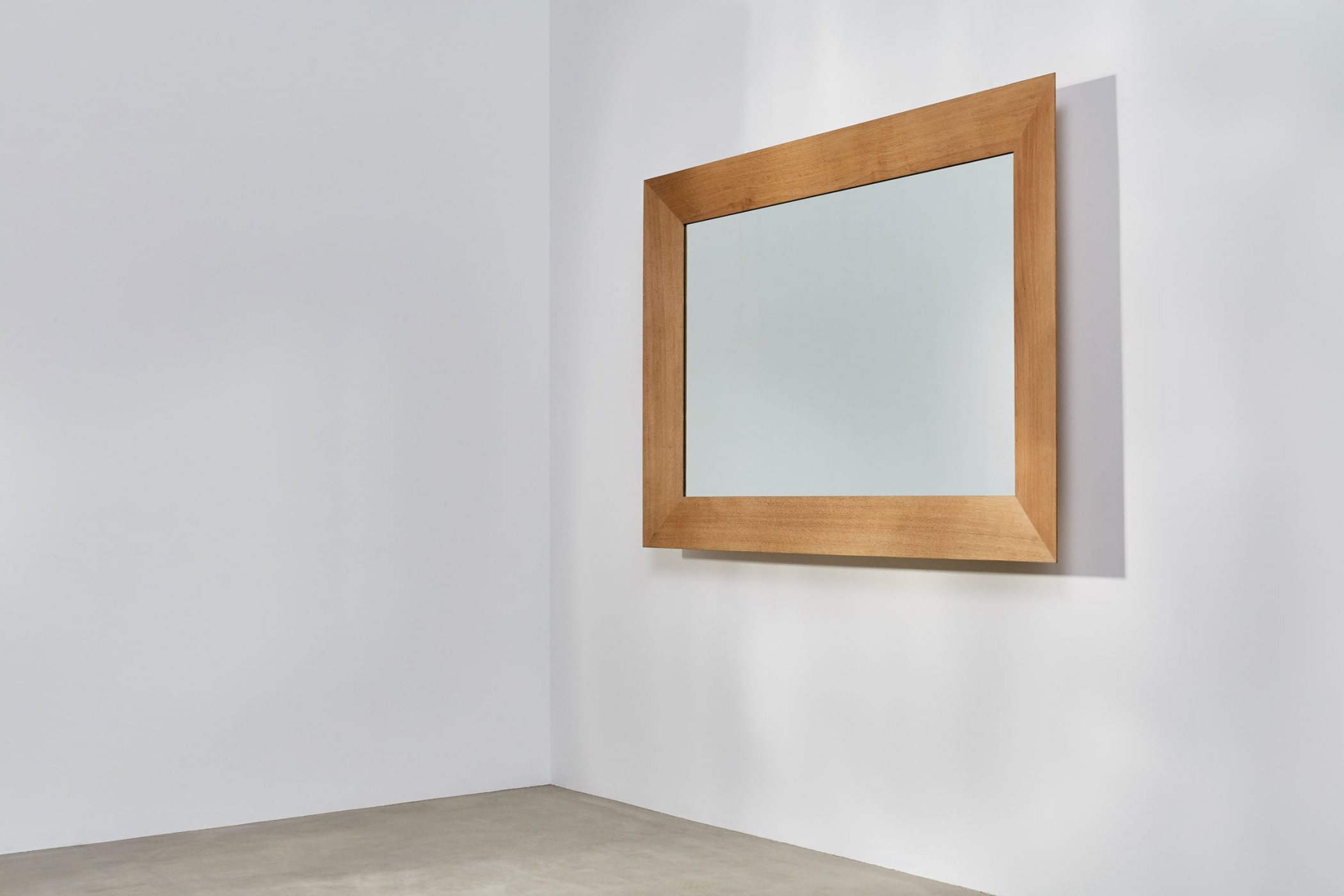 Favorite Oak Framed Wall Mirrors Throughout Wide Framed Mirror (View 16 of 20)