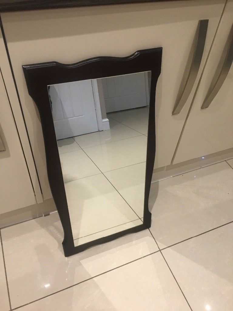 """Favorite Old Fashioned Wall Mirrors Intended For Wooden Back Wall Mirror Old Fashioned Style 30"""" X (View 16 of 20)"""