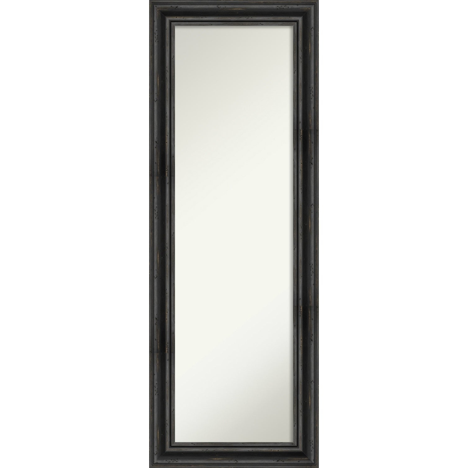 Favorite On The Door Full Length Wall Mirror, Rustic Pine Black: Outer Size 19 X 53 Inch Pertaining To Full Size Wall Mirrors (View 12 of 20)