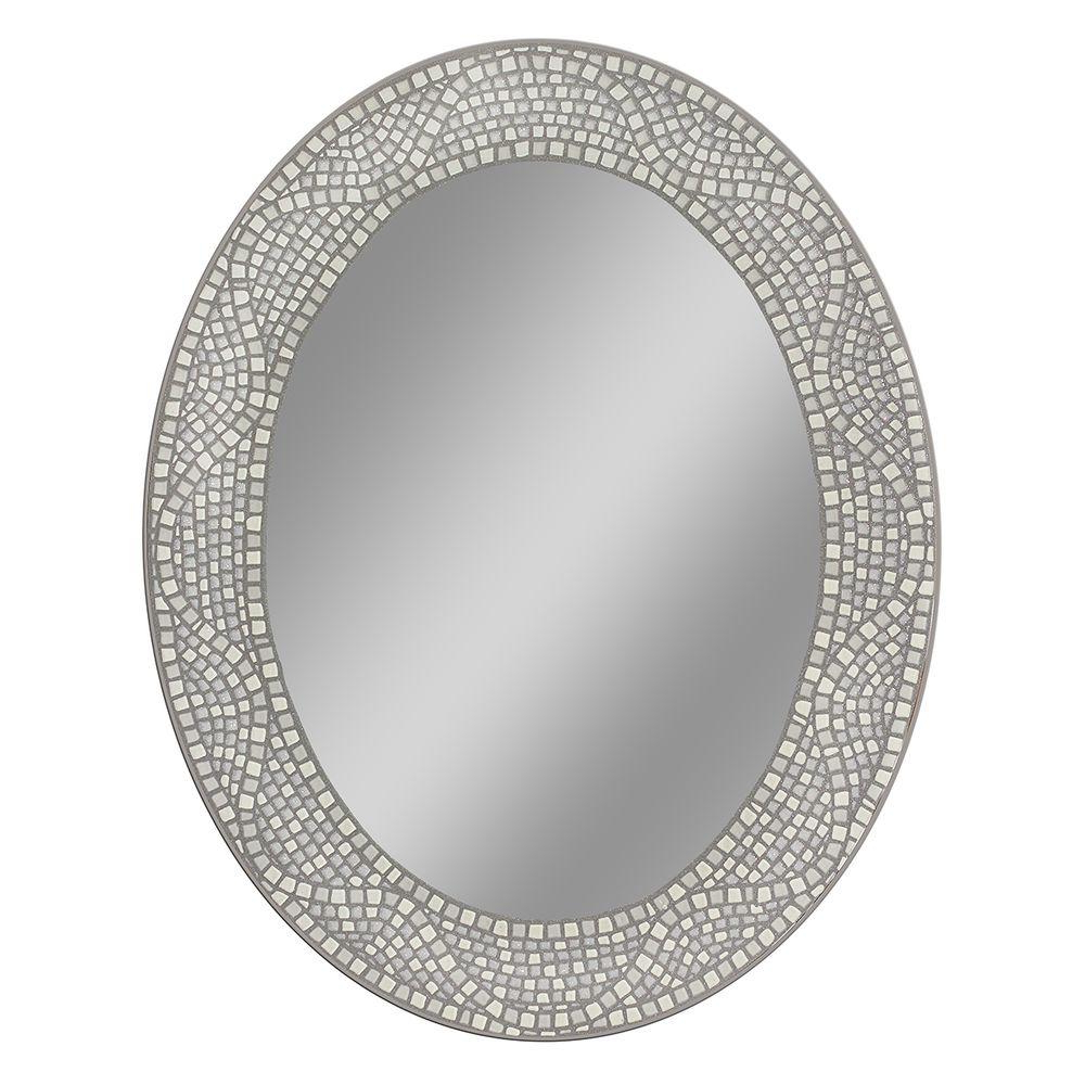 Favorite Pfister Oval Wood Wall Mirrors In Deco Mirror 23 In. X 29 In (View 13 of 20)