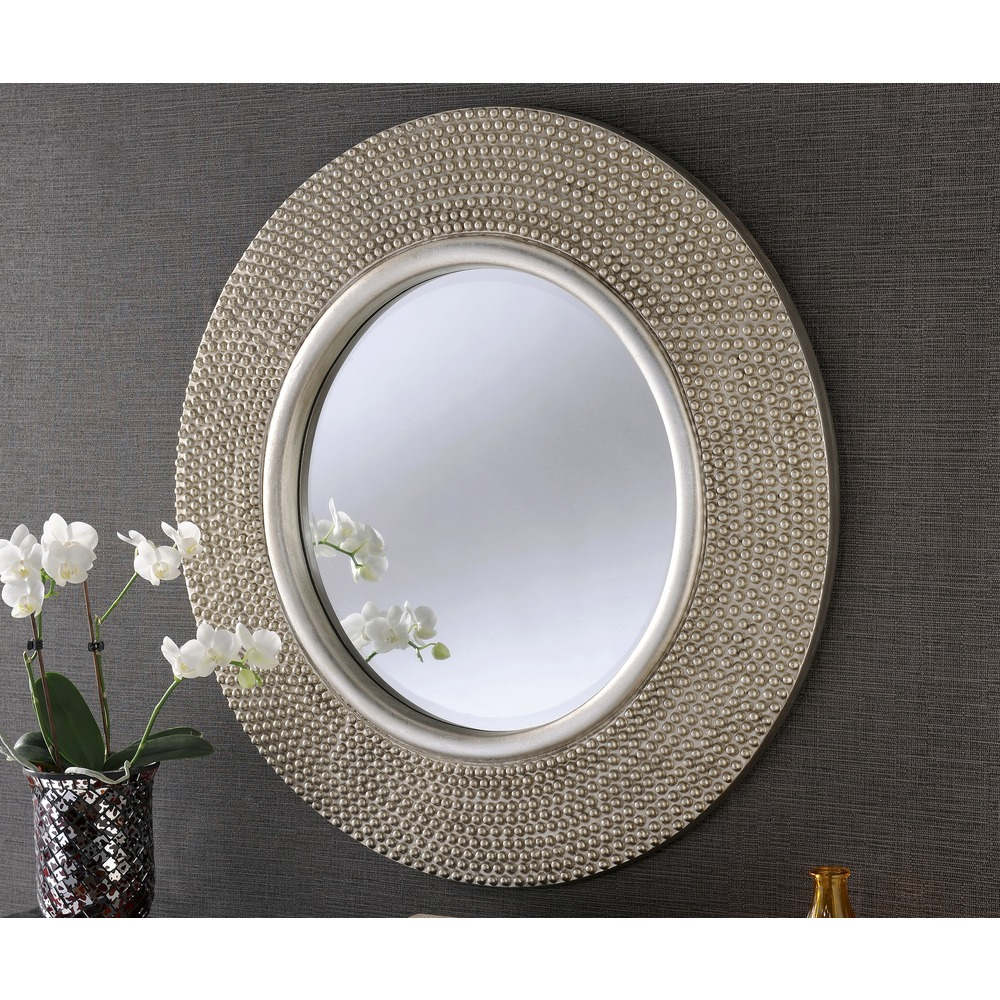 Favorite Rome Round Wall Mirror – Champagne With Regard To Wall Mirrors (View 19 of 20)