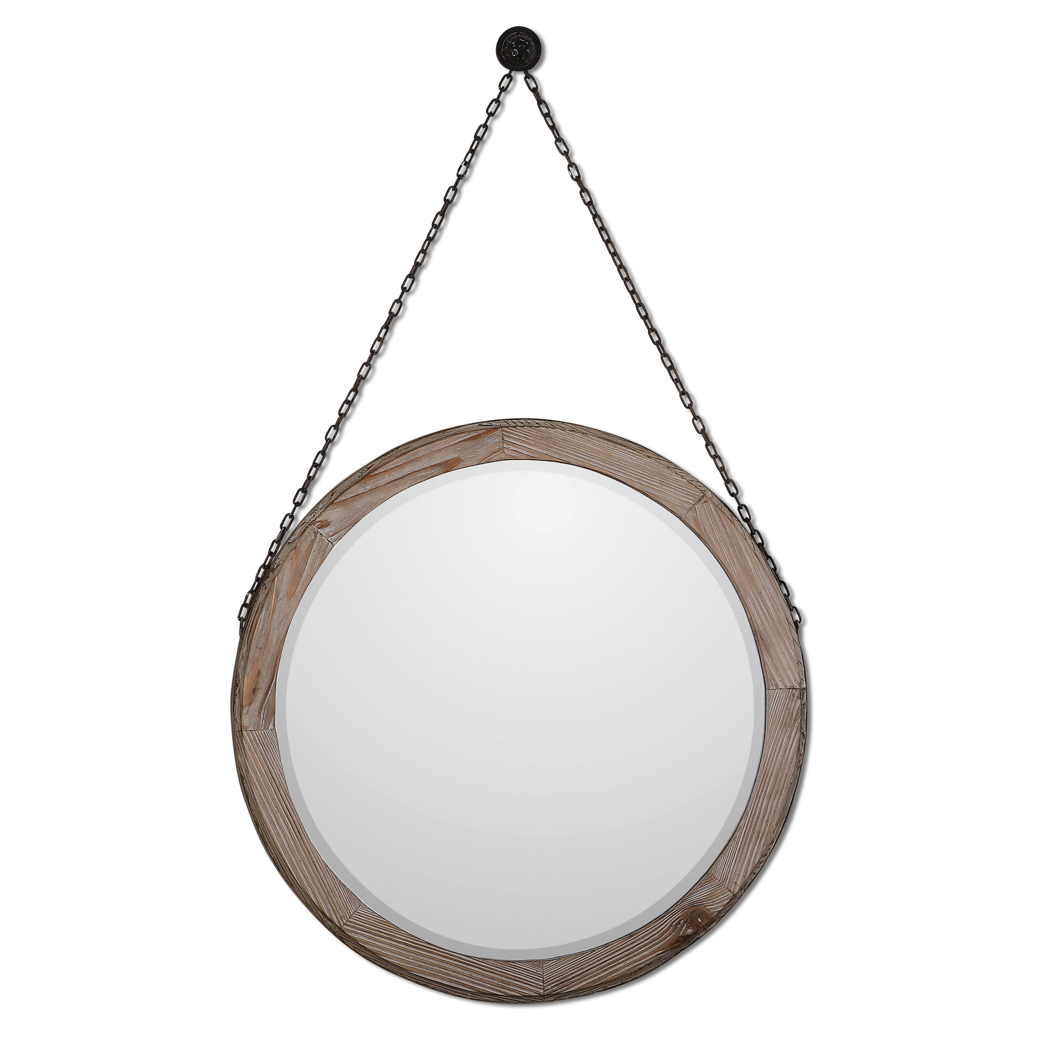 Favorite Round Wood Wall Mirrors For Round Wood Wall Mirror (View 4 of 20)