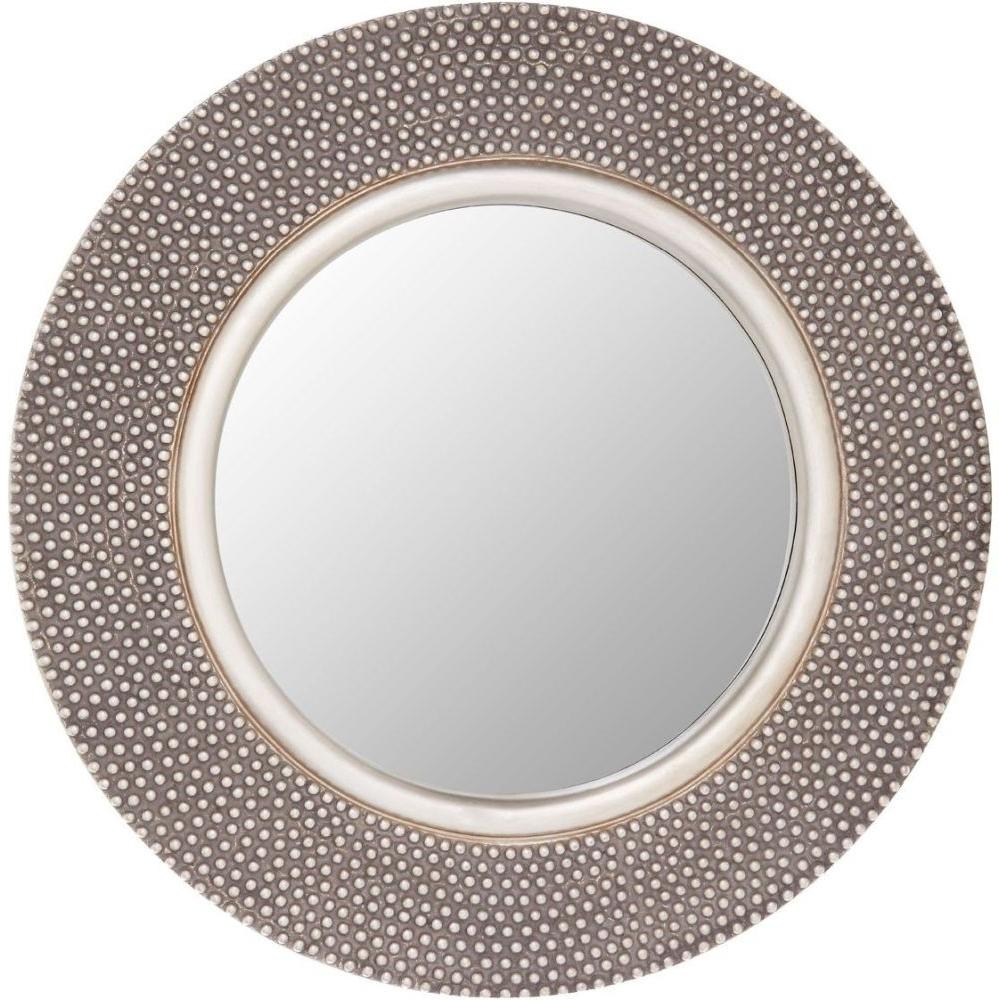 Favorite Silver Round Wall Mirrors Regarding Bruno Silver Round Wall Mirror – 80cm X 80cm (View 15 of 20)