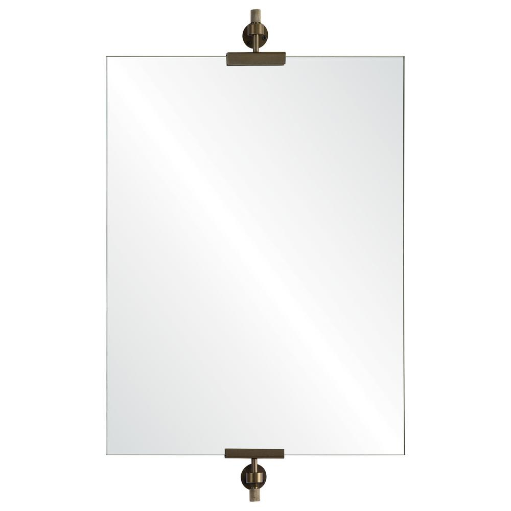 Favorite Unframed Wall Mirrors Pertaining To Renwil Alexandria 24 In. X 18 In. Unframed Wall Mirror (Gallery 13 of 20)