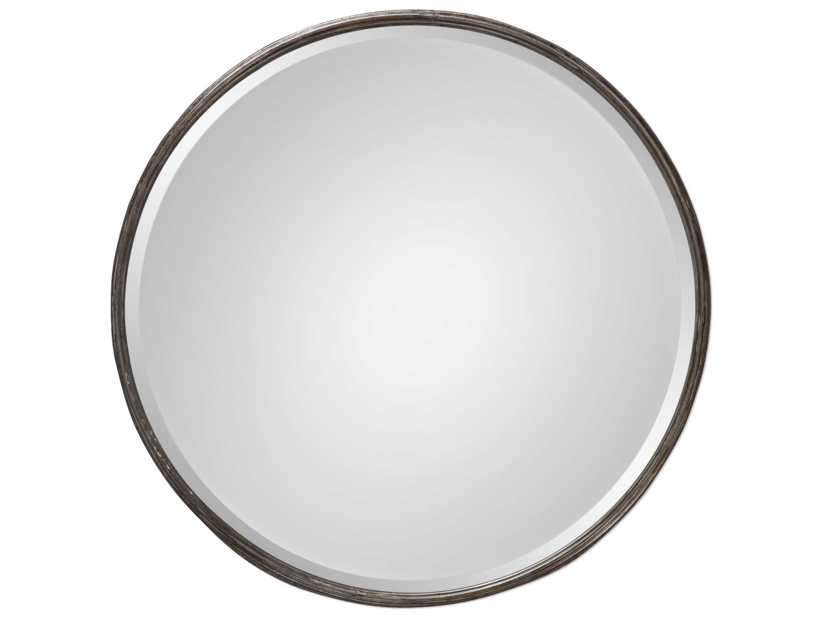 Favorite Uttermost Jim Parsons Nova Round Metal Mirror Inside Parsons Wall Mirrors (View 6 of 20)