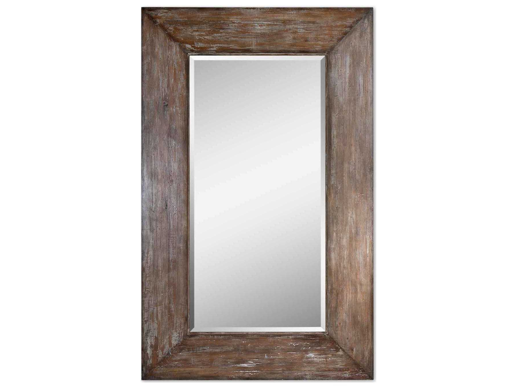 Favorite Uttermost Langford 51 X 81 Large Wood Wall Mirror For Large Wood Wall Mirrors (View 8 of 20)