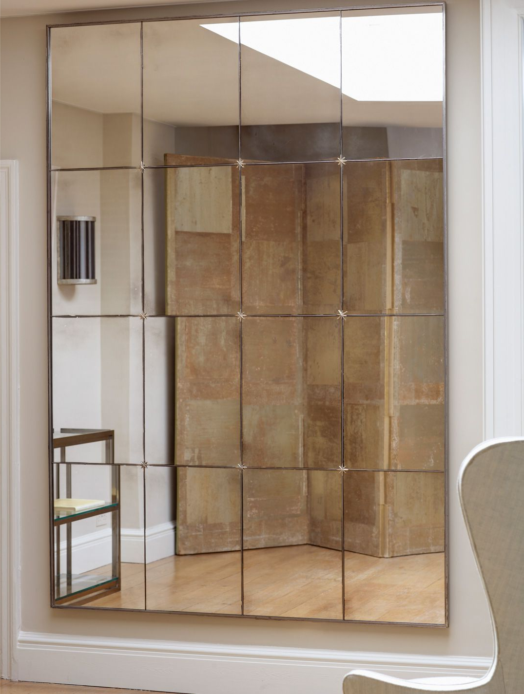 Favorite Wall Mirror Designs For Bedrooms With Regard To Panelled Mirror (View 11 of 20)