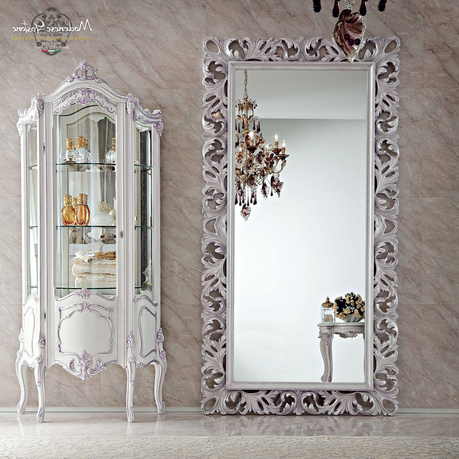 Favorite Wall Mounted Mirror / Classic / Oval / Metal – Bella Vita – Modenese Intended For Classic Wall Mirrors (View 2 of 20)