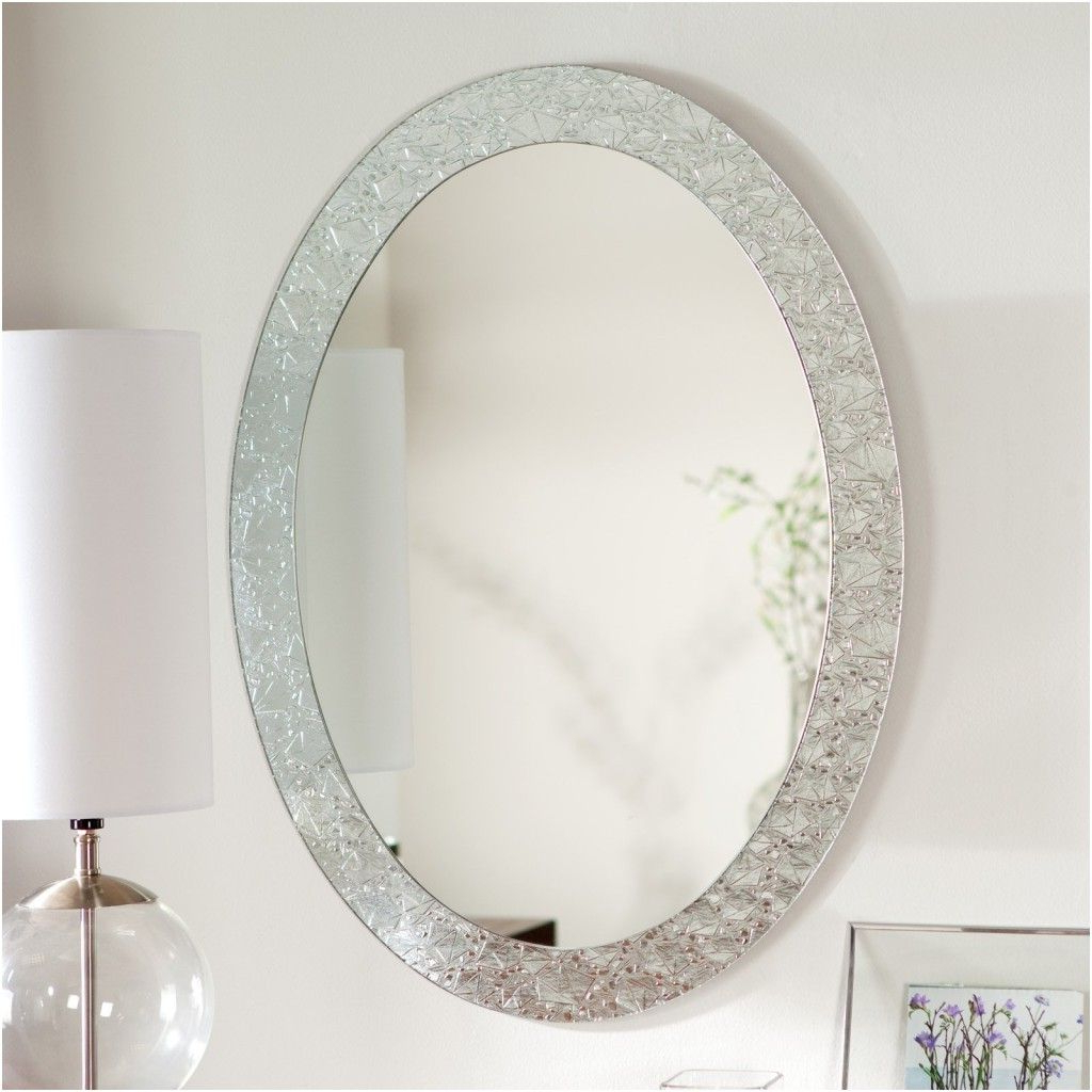 Fine Bathroom Oval Mirrors With Design Ideas From Oval White Mirror With Regard To Widely Used Charters Towers Accent Mirrors (View 20 of 20)