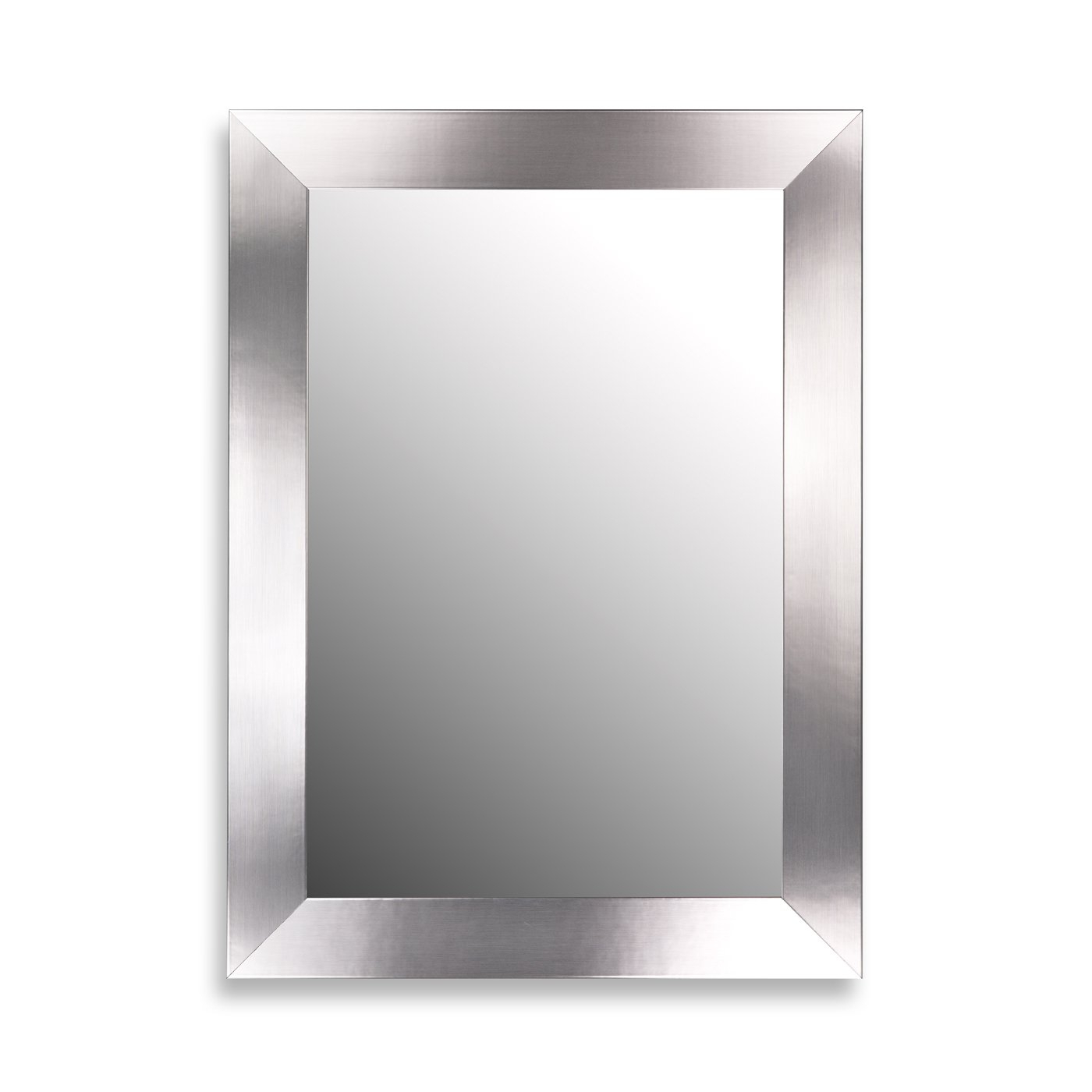 Flat Wall Mirrors With Well Known Hitchcock Butterfield 25390 Stainless Flat Wall Mirror (View 9 of 20)