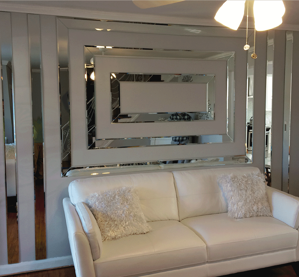 Floor To Ceiling Mirrors Pertaining To Popular Custom Mirrors (View 4 of 20)