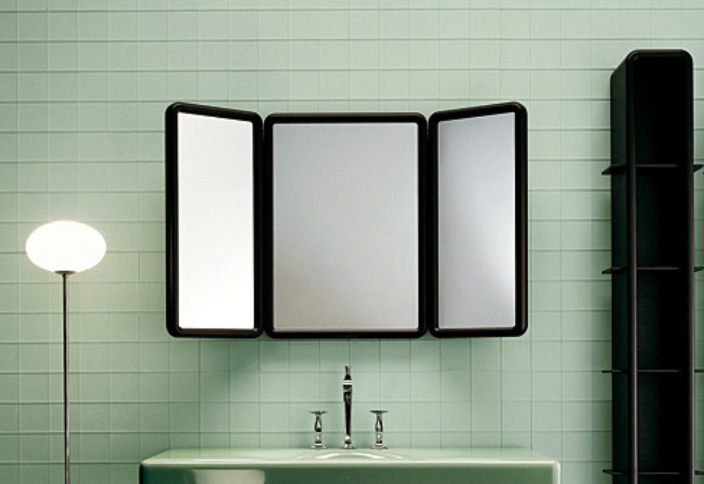 Folding Bathroom Mirror In Well Known Tri Fold Bathroom Wall Mirrors (View 1 of 20)