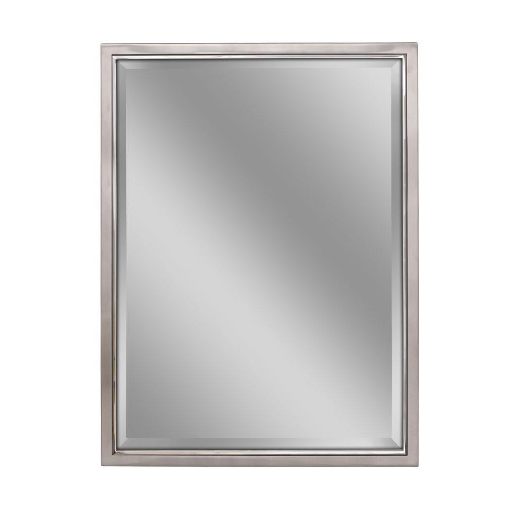 Framed Wall Mirrors Within Best And Newest Deco Mirror 30 In. W X 40 In (View 2 of 20)