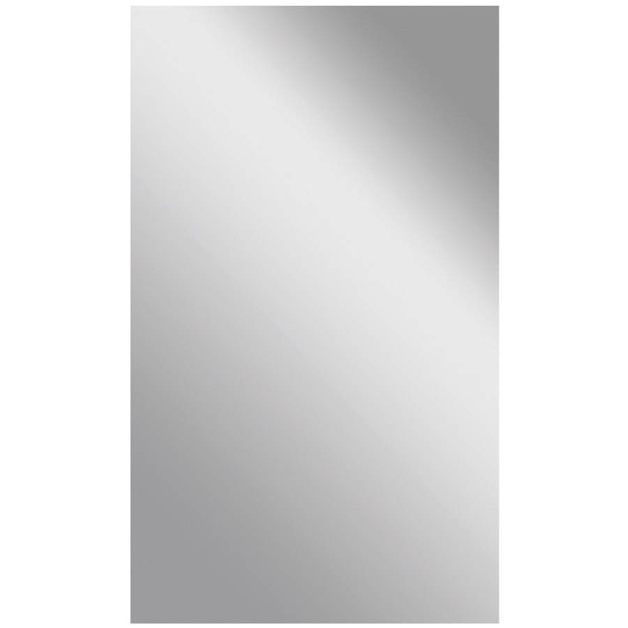 Frameless Wall Mirrors Pertaining To Popular Gardner Glass Products 60 In L X 42 In W Polished Frameless Wall (View 13 of 20)