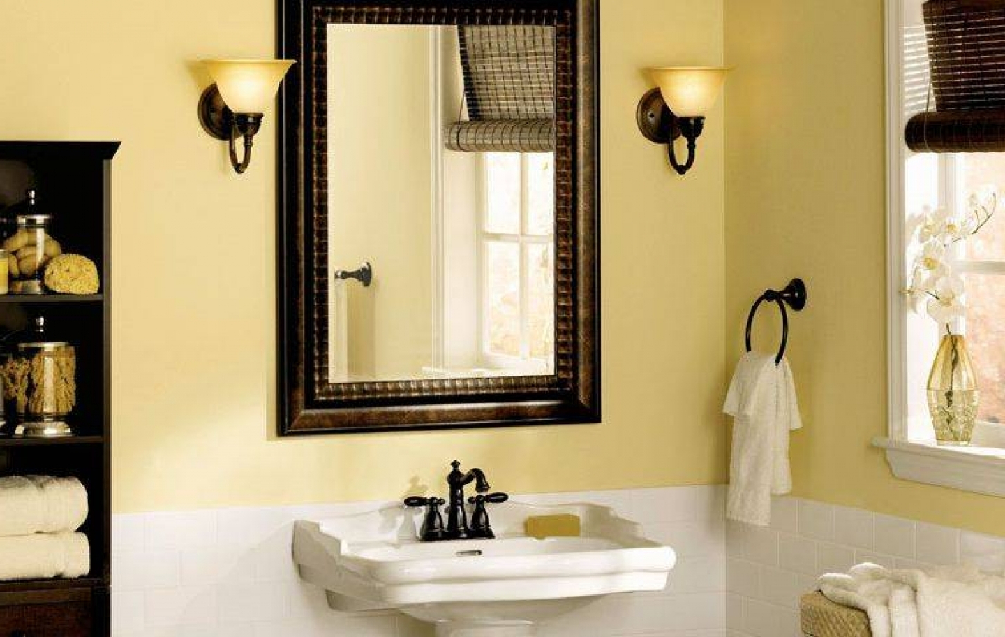 Frames For Bathroom Wall Mirrors Inside Well Known Framed Bathroom Mirrors Also Small Decorative Mirrors Also Frame (View 7 of 20)