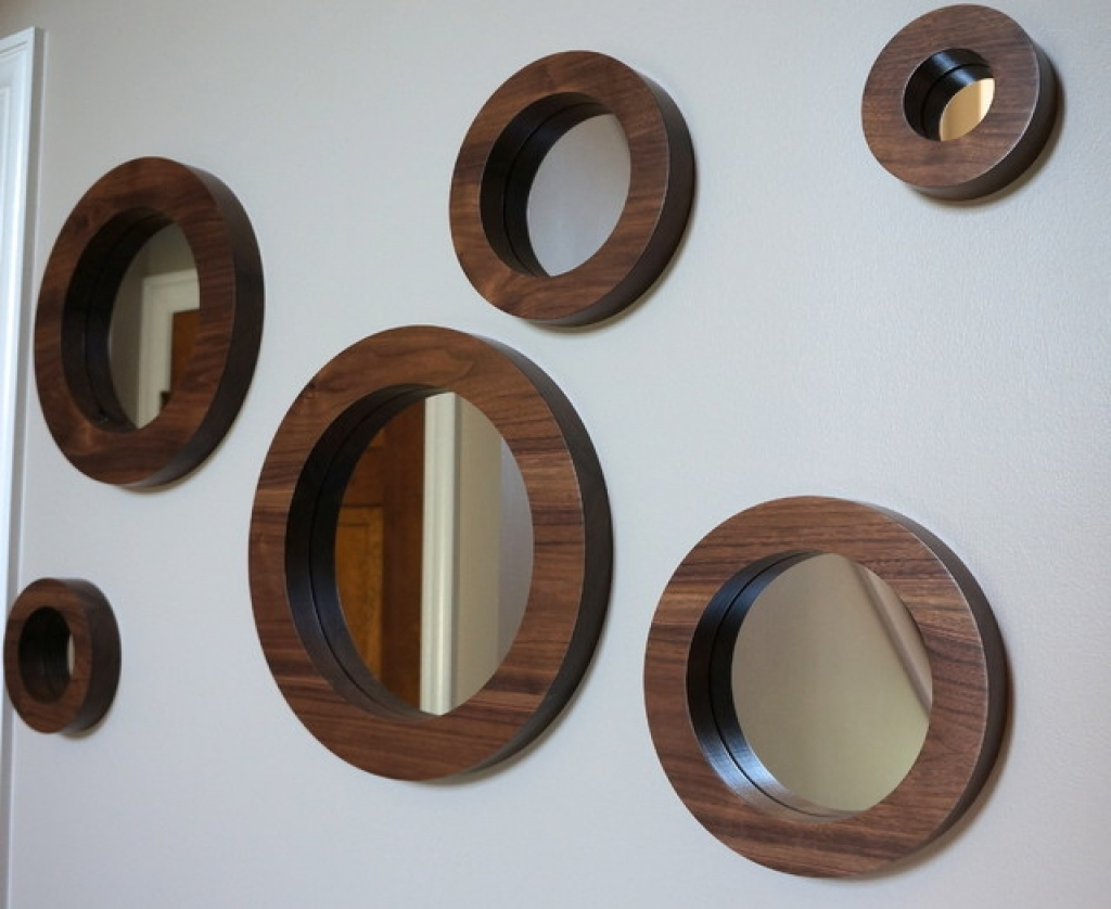 Fresh Ideas Decorative Wall Mirror Sets Also Round Mirrors Full Pertaining To Most Recent Decorative Wall Mirror Sets (View 9 of 20)