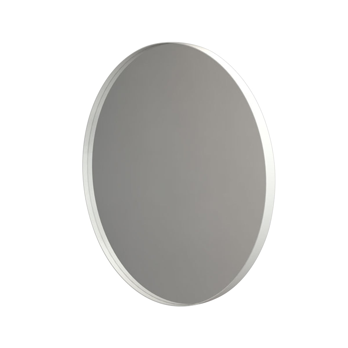 Frost – Unu Wall Mirror 4134, Ø 40 Cm, White Intended For Most Popular White Round Wall Mirrors (View 17 of 20)