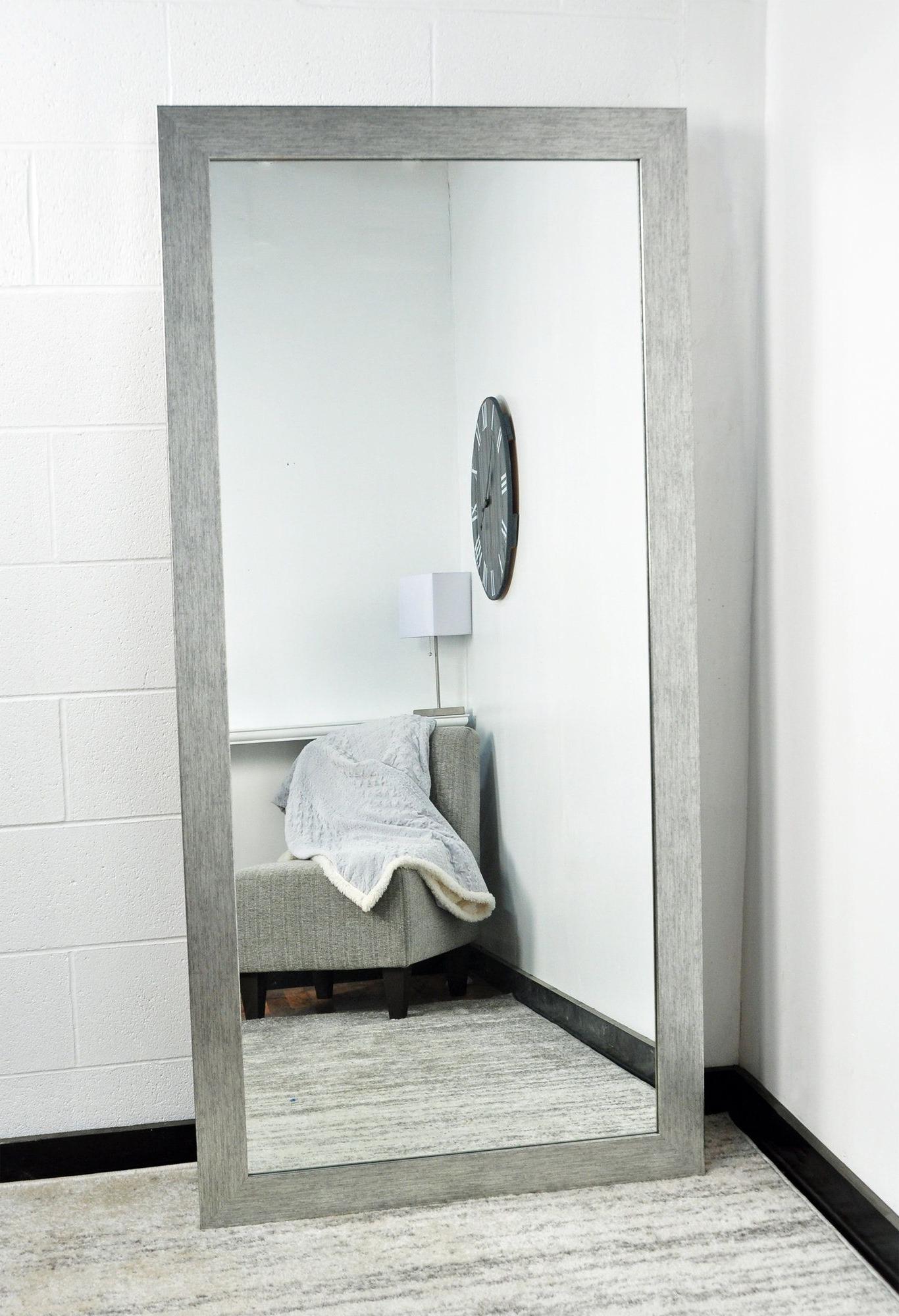 Full Body Wall Mirrors Inside Latest Inspiring Cover Selfie Target Bathroom Full Diy Depot Kit (View 7 of 20)
