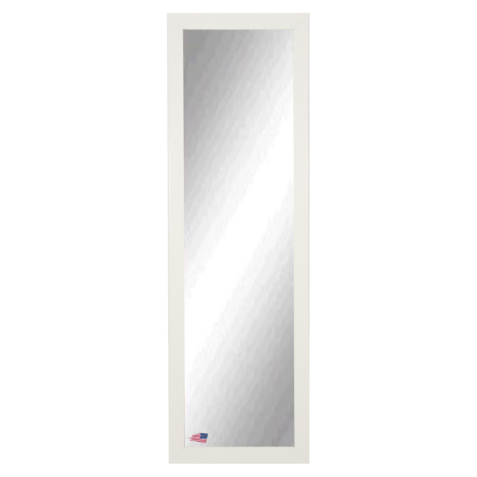 Full Body Wall Mirrors Intended For Most Current Rayne Mirrors Glossy White Full Length Body Wall Mirror (View 16 of 20)