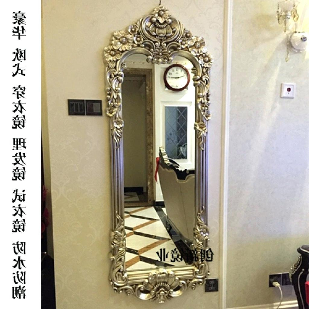 Full Length Decorative Wall Mirrors With Most Popular Wall Mirror Design Ideas – Dracosheet (View 18 of 20)