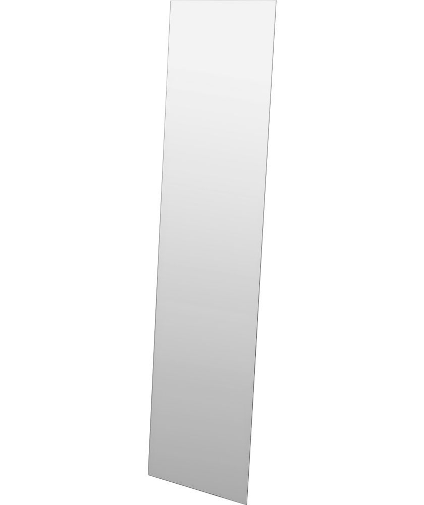 Full Length Frameless Wall Mirrors Throughout Recent Buy Full Length Frameless Wall Mirror – Silver At Argos.co (View 1 of 20)