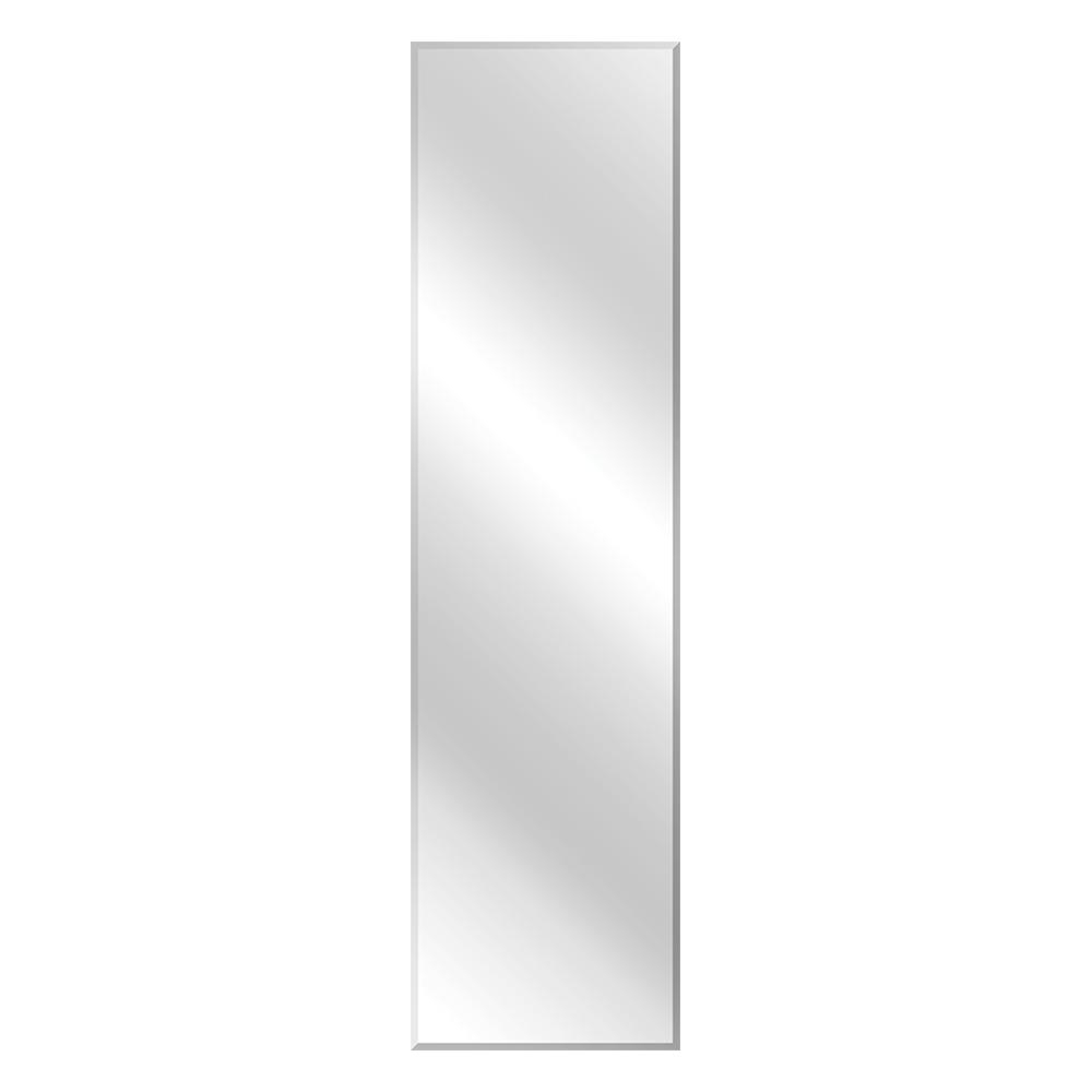 Full Length Frameless Wall Mirrors Within Favorite Glacier Bay 16 In. W X 60 In (View 3 of 20)