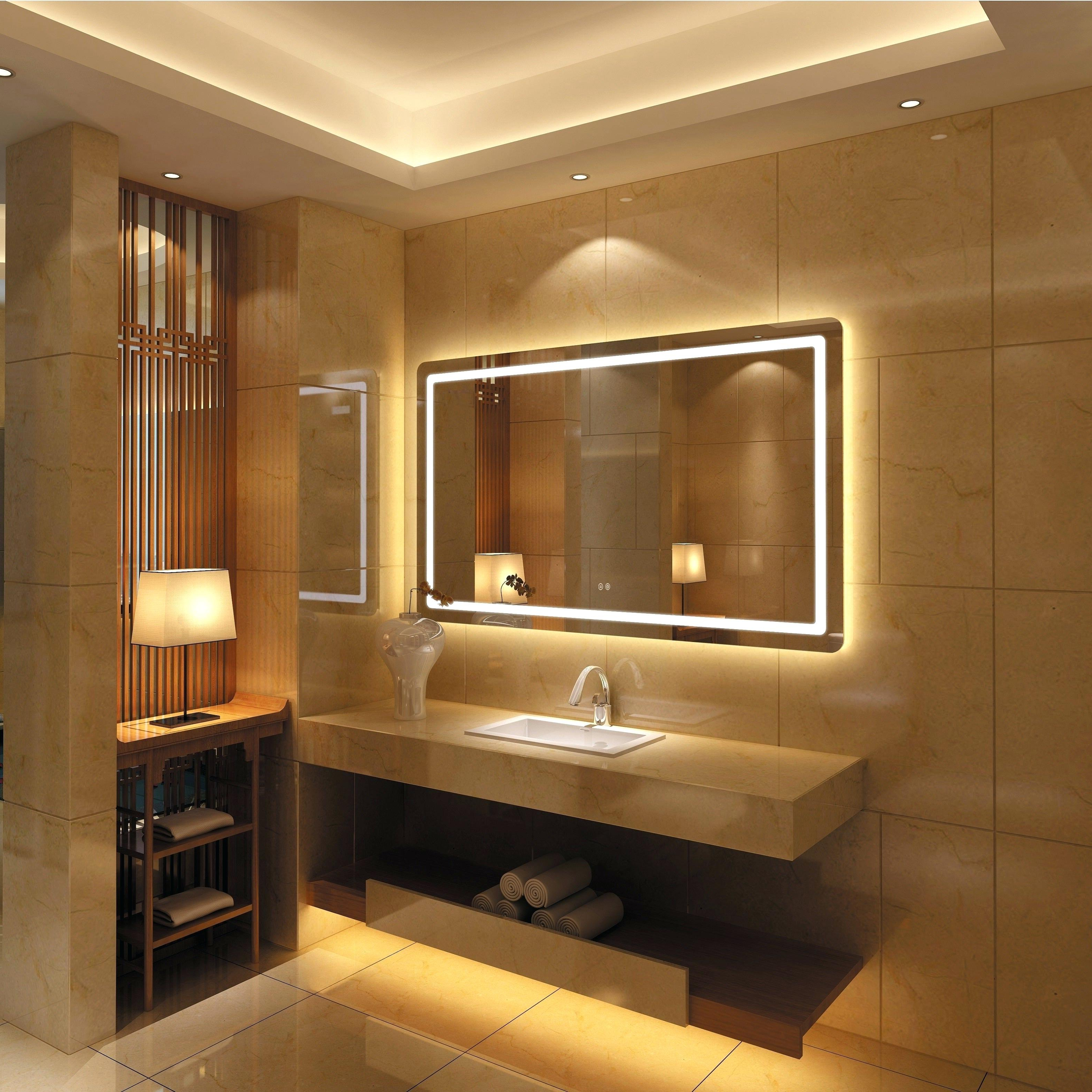 Full Wall Bathroom Mirror – Whenistheapocalypse Pertaining To Famous Bathroom Full Wall Mirrors (View 15 of 20)