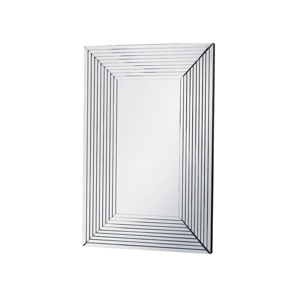 Fusion Living Large Rectangular Art Deco Style Wall Mirror In Favorite Art Deco Wall Mirrors (View 12 of 20)