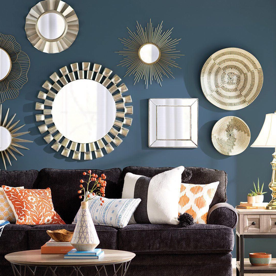 "Gallery Wall Mirrors Regarding Favorite Wayfair On Instagram: ""try This Fresh Take On A Gallery Wall (View 11 of 20)"