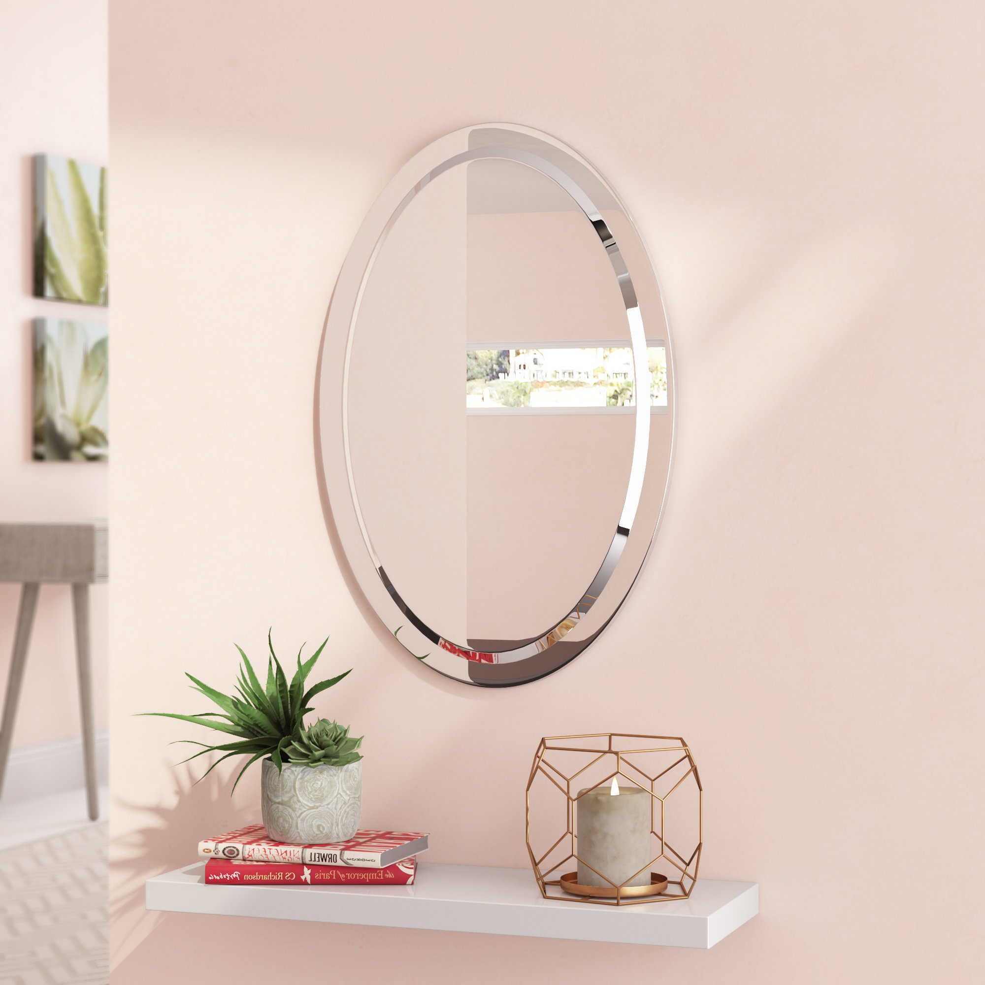 Gaunts Earthcott Modern & Contemporary Beveled Accent Mirrors Pertaining To Latest Ezechias Accent Mirror (View 6 of 20)
