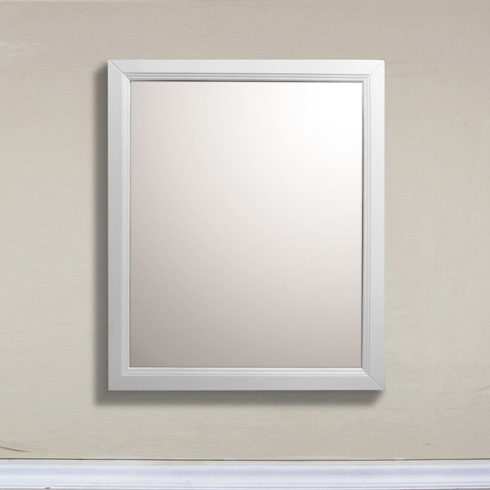 Gaunts Earthcott Wall Mirrors Inside Newest Huron 30 Inch W X 1 Inch D X 36 Inch H Single Framed Wall Mirror In (View 13 of 20)