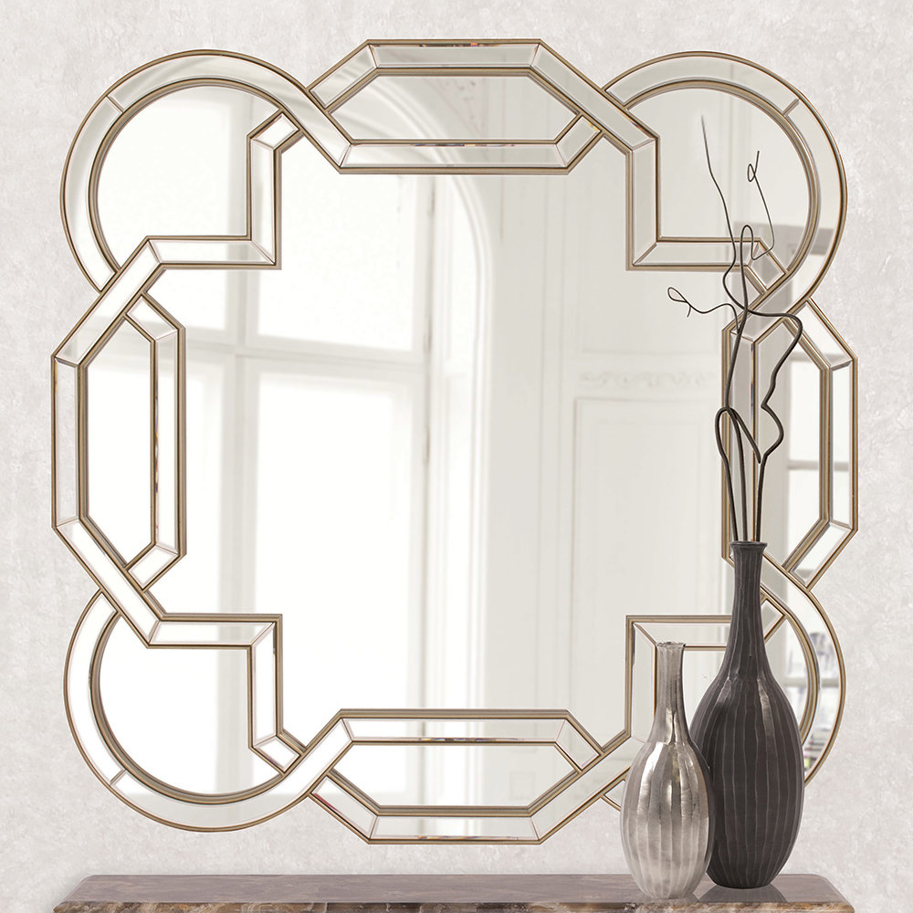 Geometric Wall Mirror Throughout Favorite Geometric Wall Mirrors (View 2 of 20)