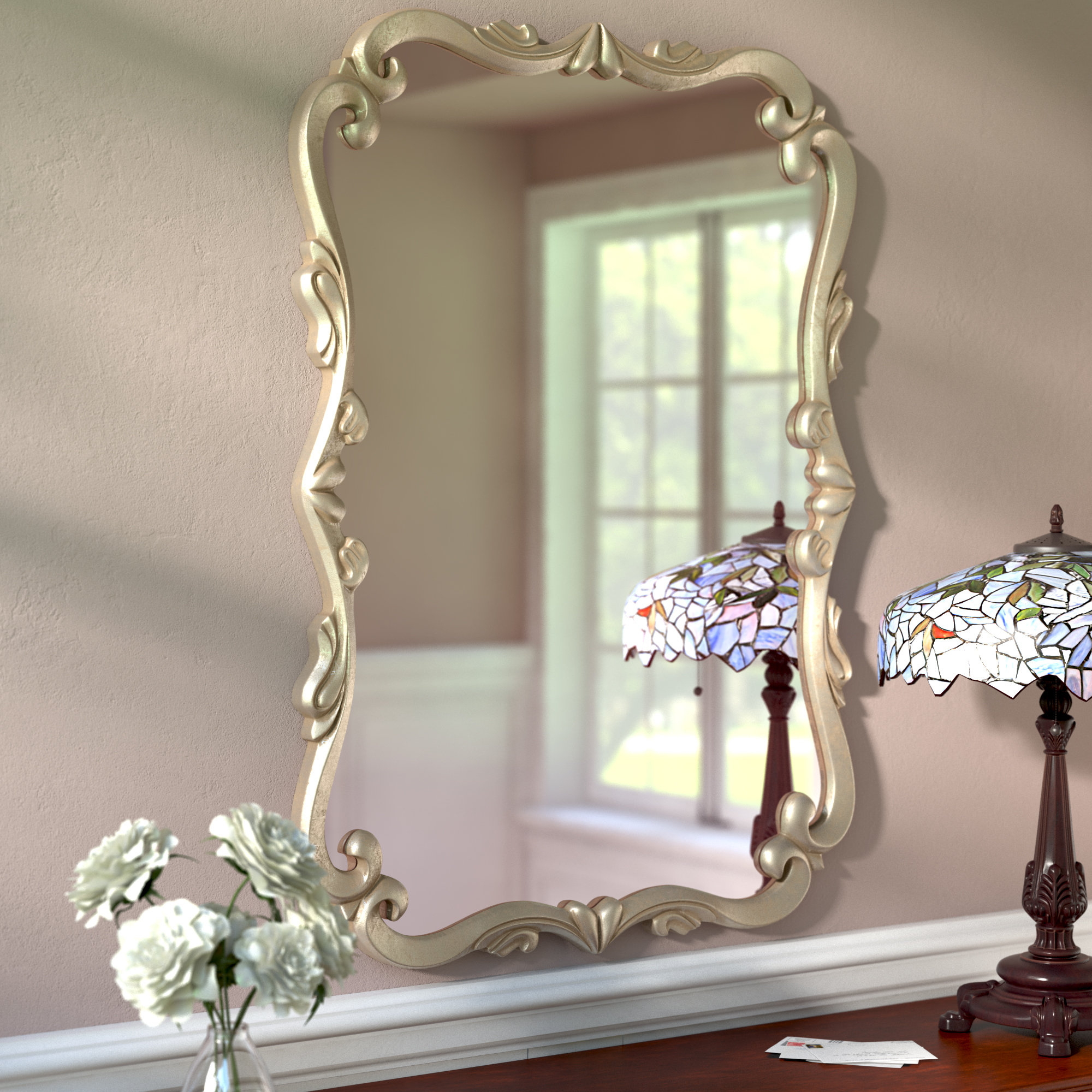 Gingerich Resin Modern & Contemporary Accent Mirrors Throughout Most Recent Traditional Accent Mirror (View 11 of 20)