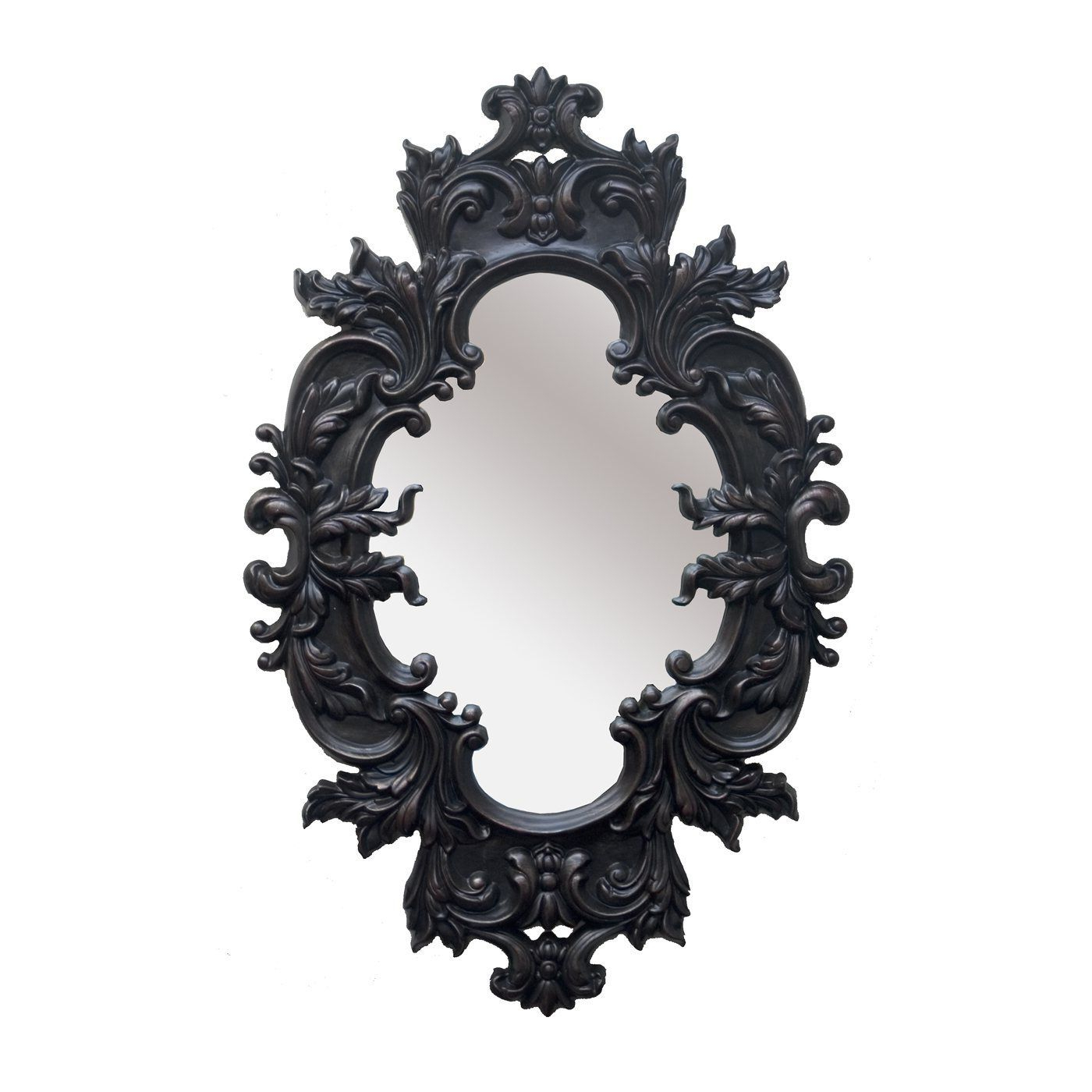 Gingerich Resin Modern & Contemporary Accent Mirrors With Most Up To Date Prodigious Useful Tips: Decorative Wall Mirror Rustic Black Wall (View 12 of 20)