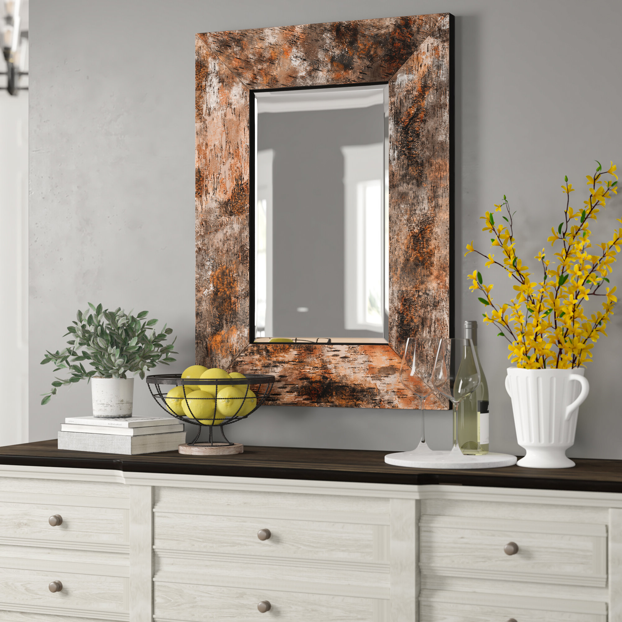 Giorgio Accent Mirror Within Well Known Booth Reclaimed Wall Mirrors Accent (View 15 of 20)