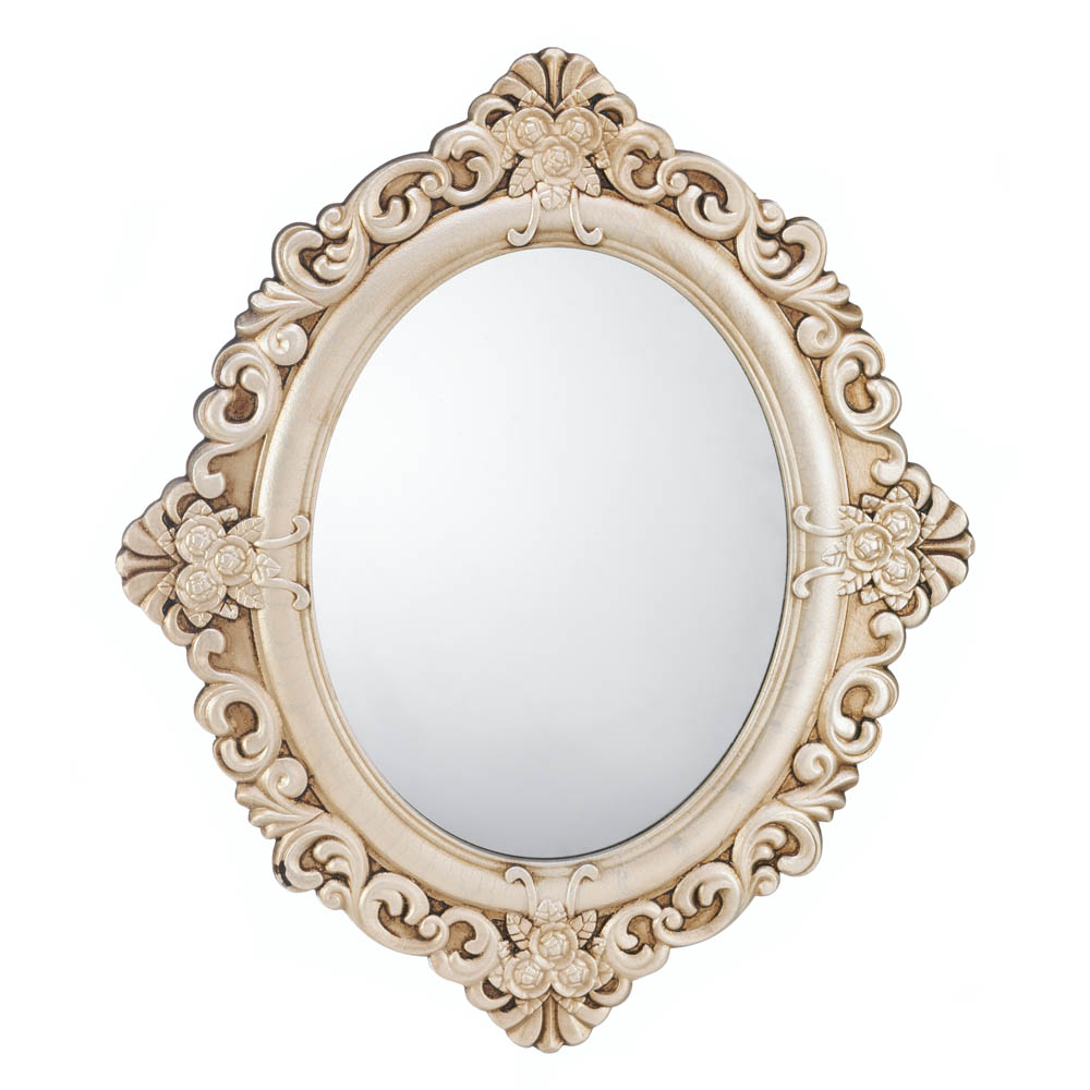 Girls Wall Mirrors In Well Known Decorative Wall Mirrors, Elegant Girls Wall Mirror, Vintage Estate Wall Mirror (View 8 of 20)