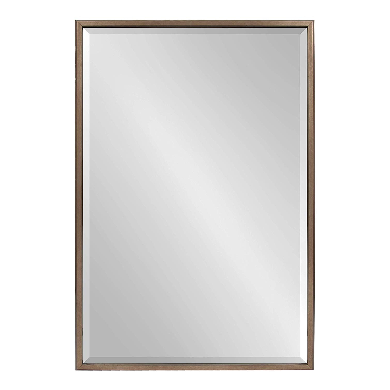 Glam Beveled Accent Mirrors Inside 2019 Amazon: Kate And Laurel Blake Modern Glam Framed Beveled Wall (View 15 of 20)