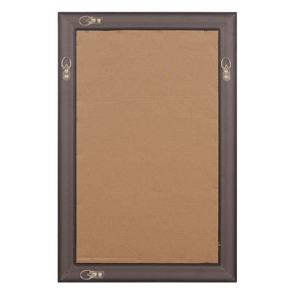 Glam Beveled Accent Mirrors Within Most Up To Date Pinnacle Beveled Accent Rectangular Silver Decorative Mirror (View 17 of 20)