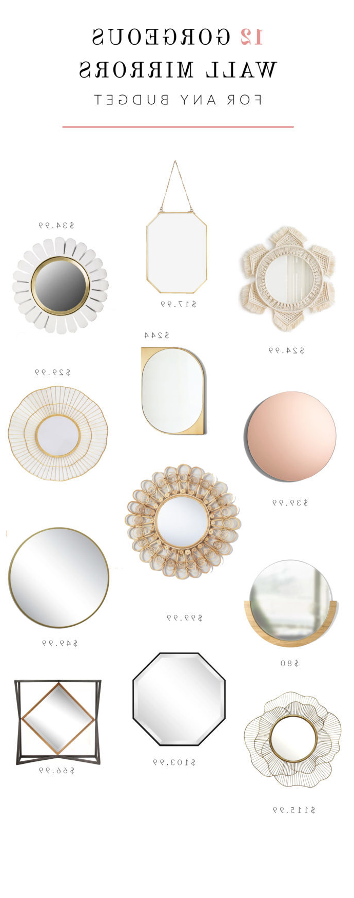 Featured Photo of Cute Wall Mirrors