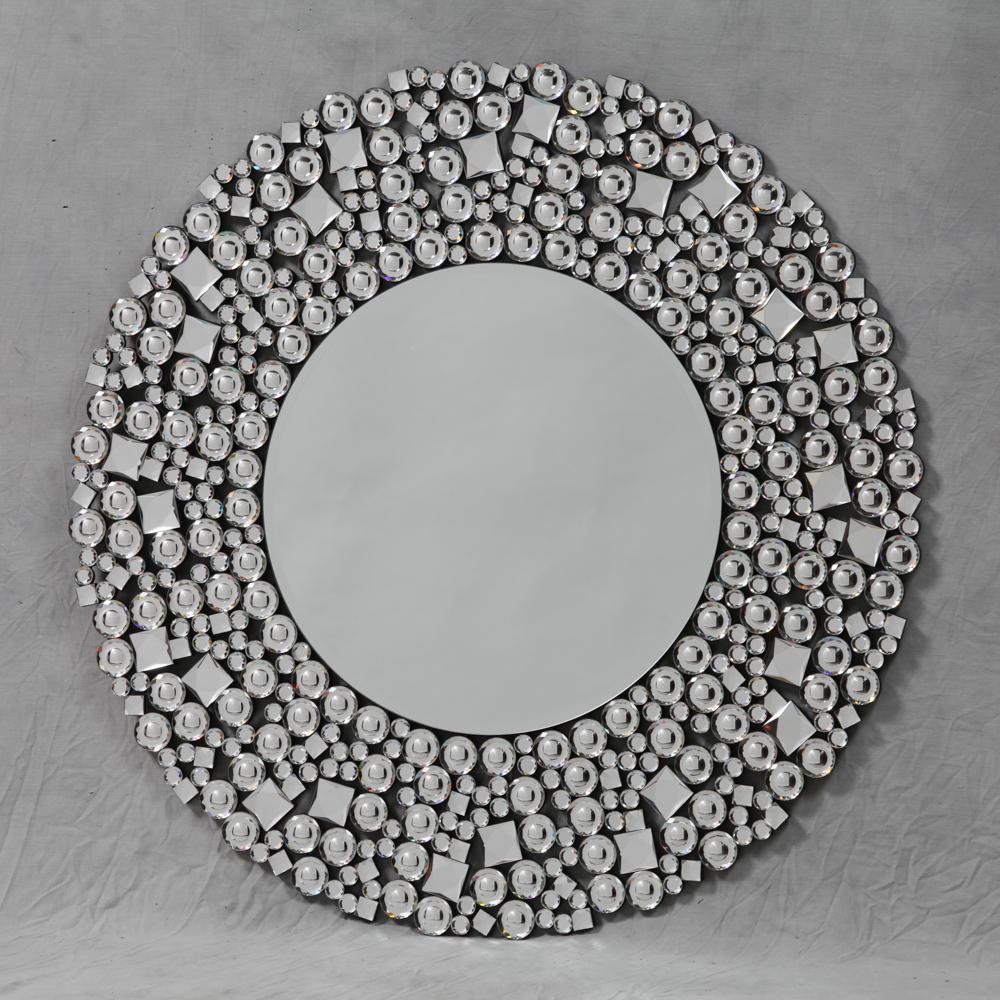 Glitz Round Venetian Wall Mirror In Favorite Venetian Wall Mirrors (View 9 of 20)